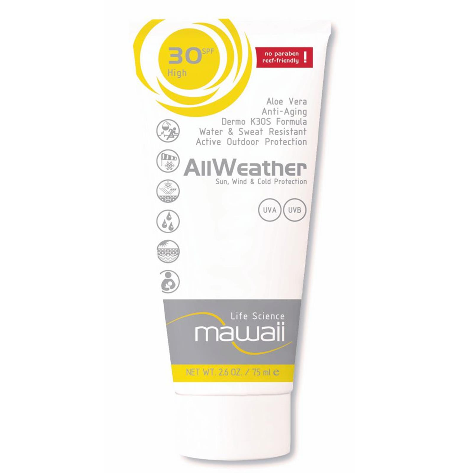 mawaii AllWeather Wind Sun Protection SPF 30  75ml