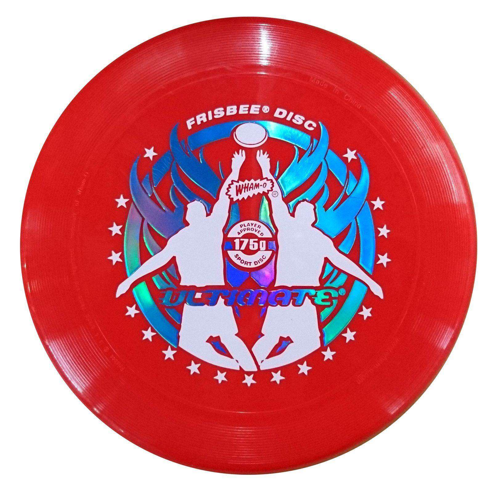 WHAM-O FRISBEE Wurfscheibe Ultimate 175g Rot